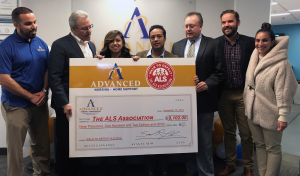Advanced Nursing & Home Support Gives back to the ALS Association